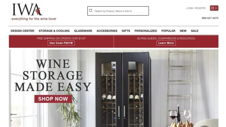 IWA Wine Affiliate Program