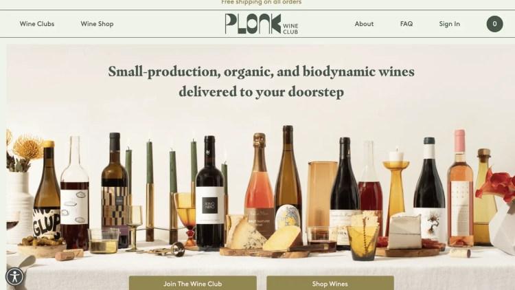 Plonk Wine Club affiliate program