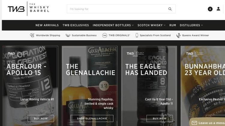 The Whiskey Barrel affiliate program
