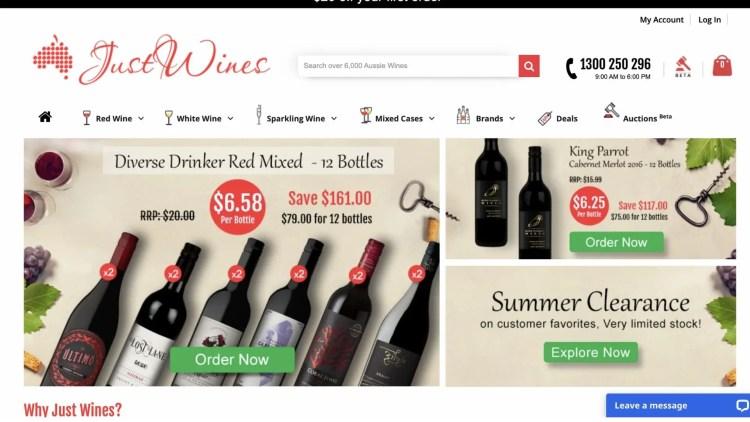 Just Wines Affiliate Program