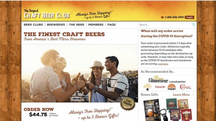Craft Beer Club affiliate program