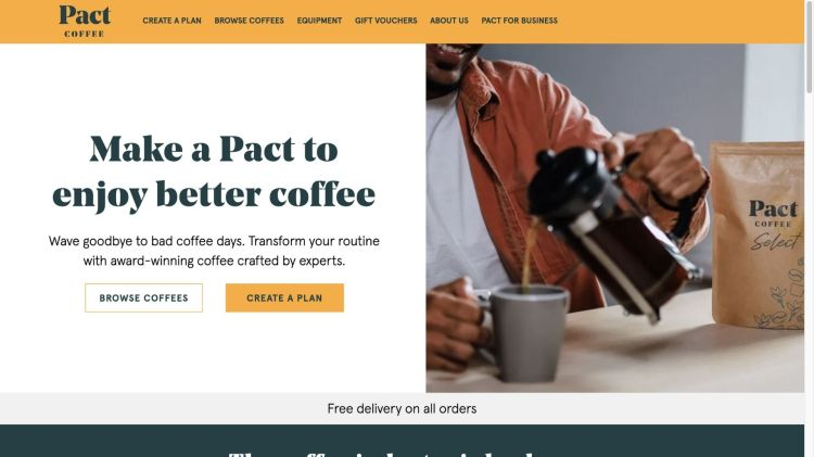 Pact Coffee Affiliate Program