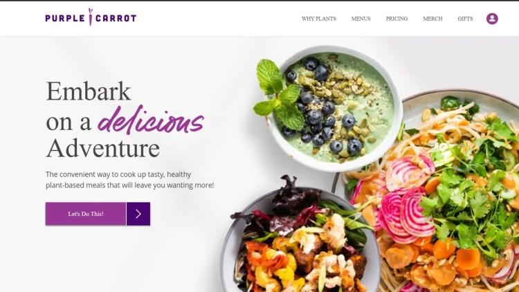 Purple Carrot: Top meal kit affiliate programs