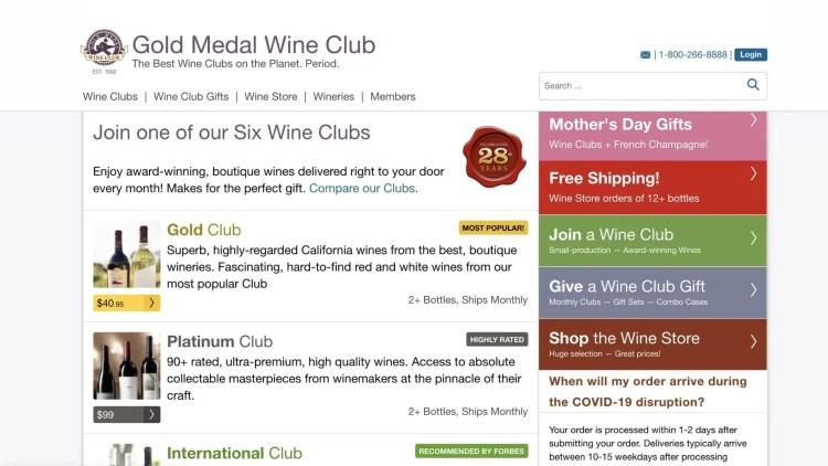 Gold Medal Wine Club Affiliate Program