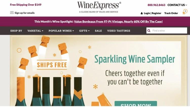 WineExpress affiliate program