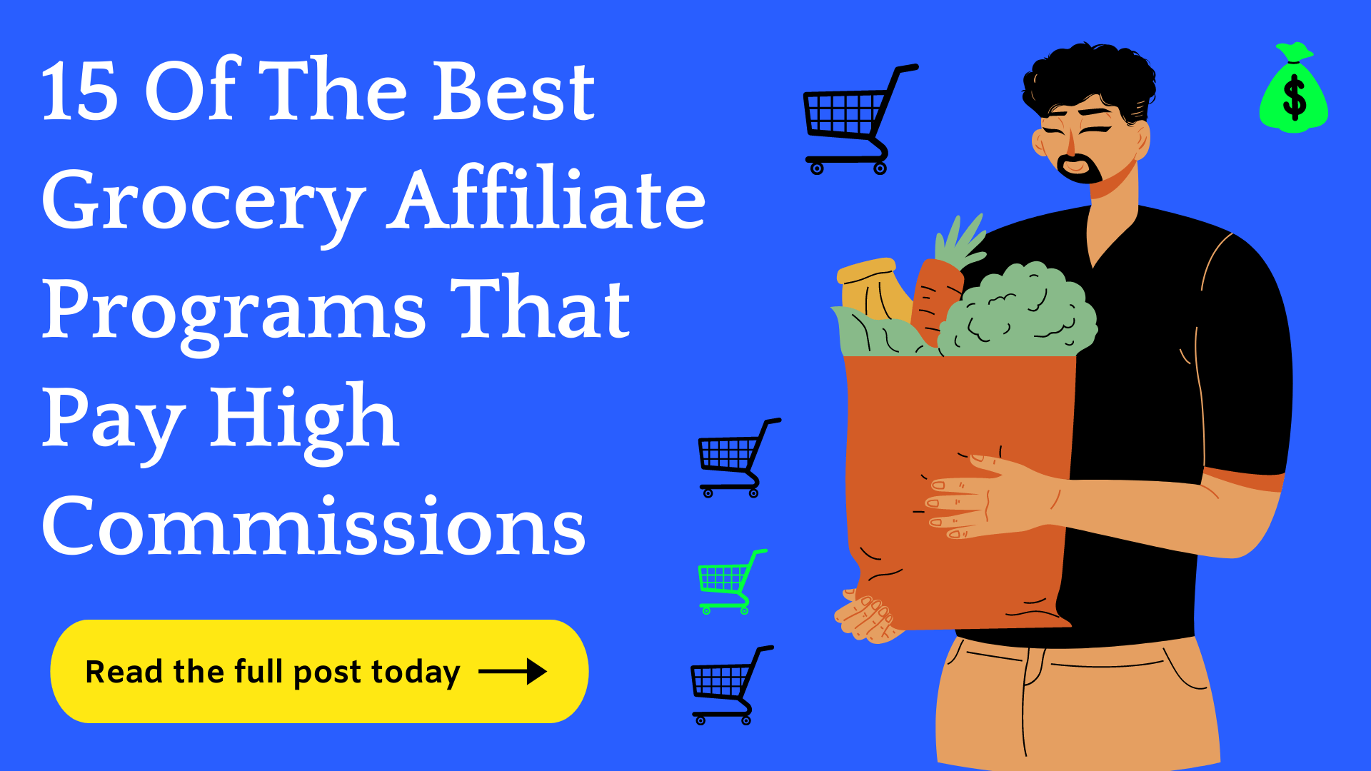 Best grocery affiliate programs