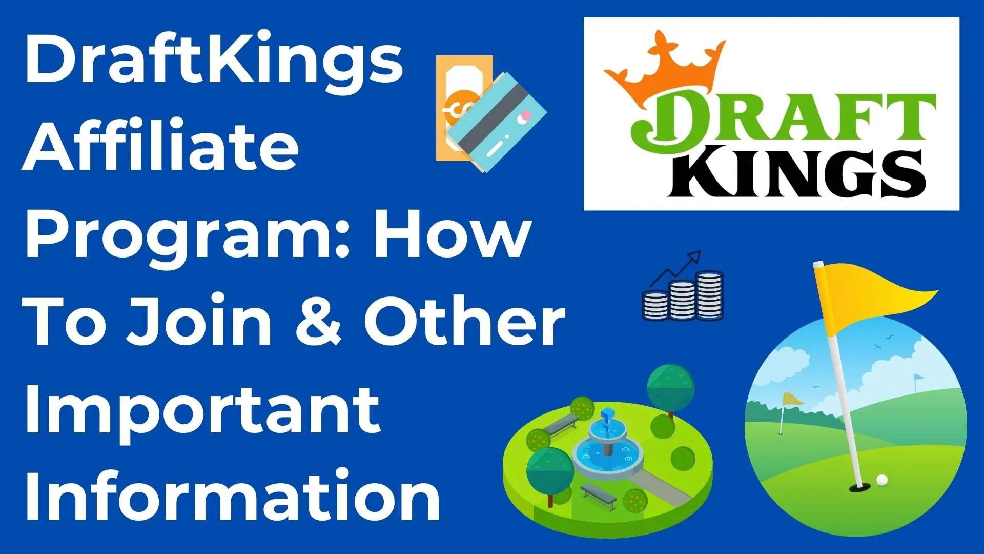 DraftKings affiliate program