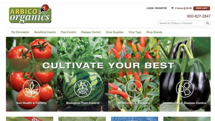 farming affiliate programs: Arbico Organics