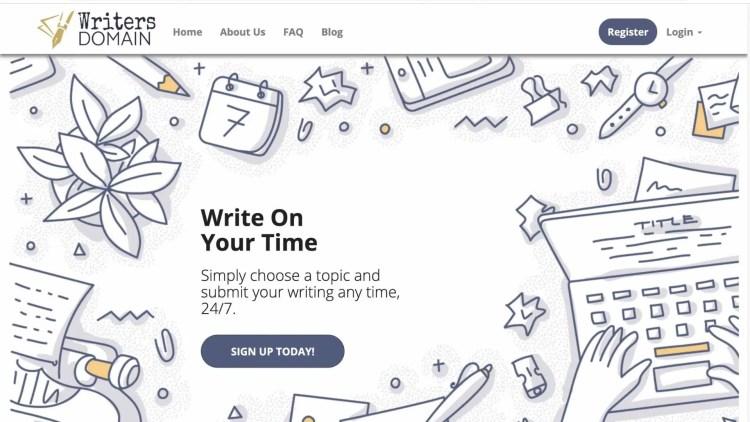 WriterDomain: alterantive to Textbroker