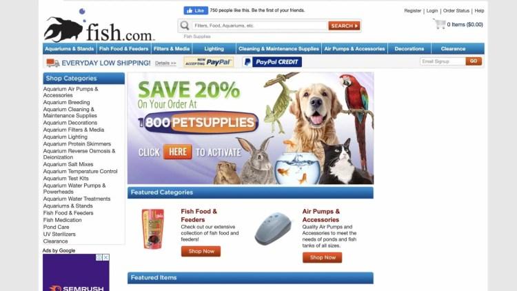 Fish.com affiliate program