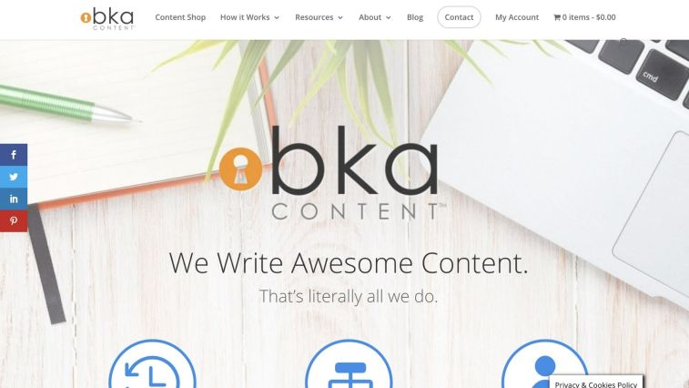 HireWriters alternatives - BKA Content