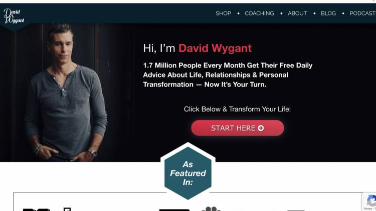 David Wygant Affiliate Program