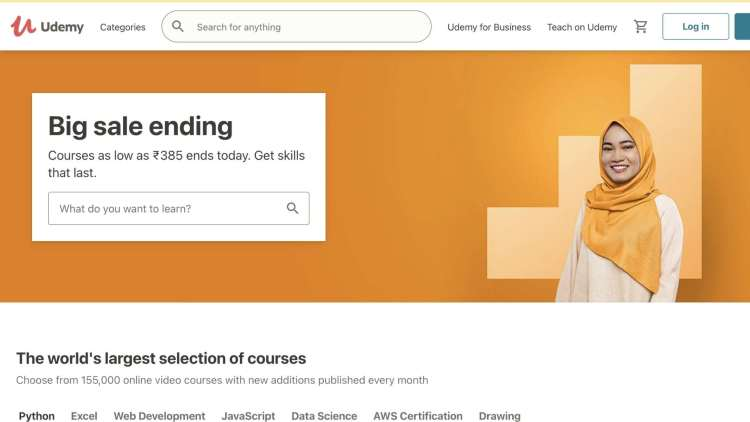 Udemy for business planning