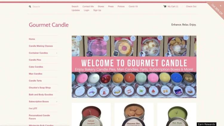 Gourmet Candle Affiliate Program