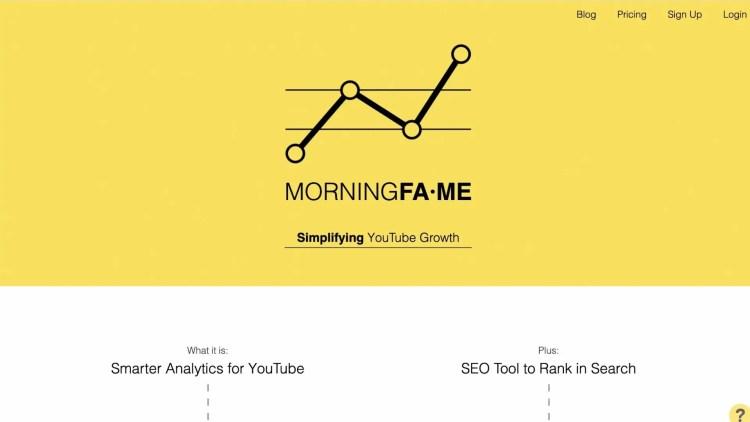 Best TubeBuddy Alternatives For YouTube Growth: MorningFa.mE