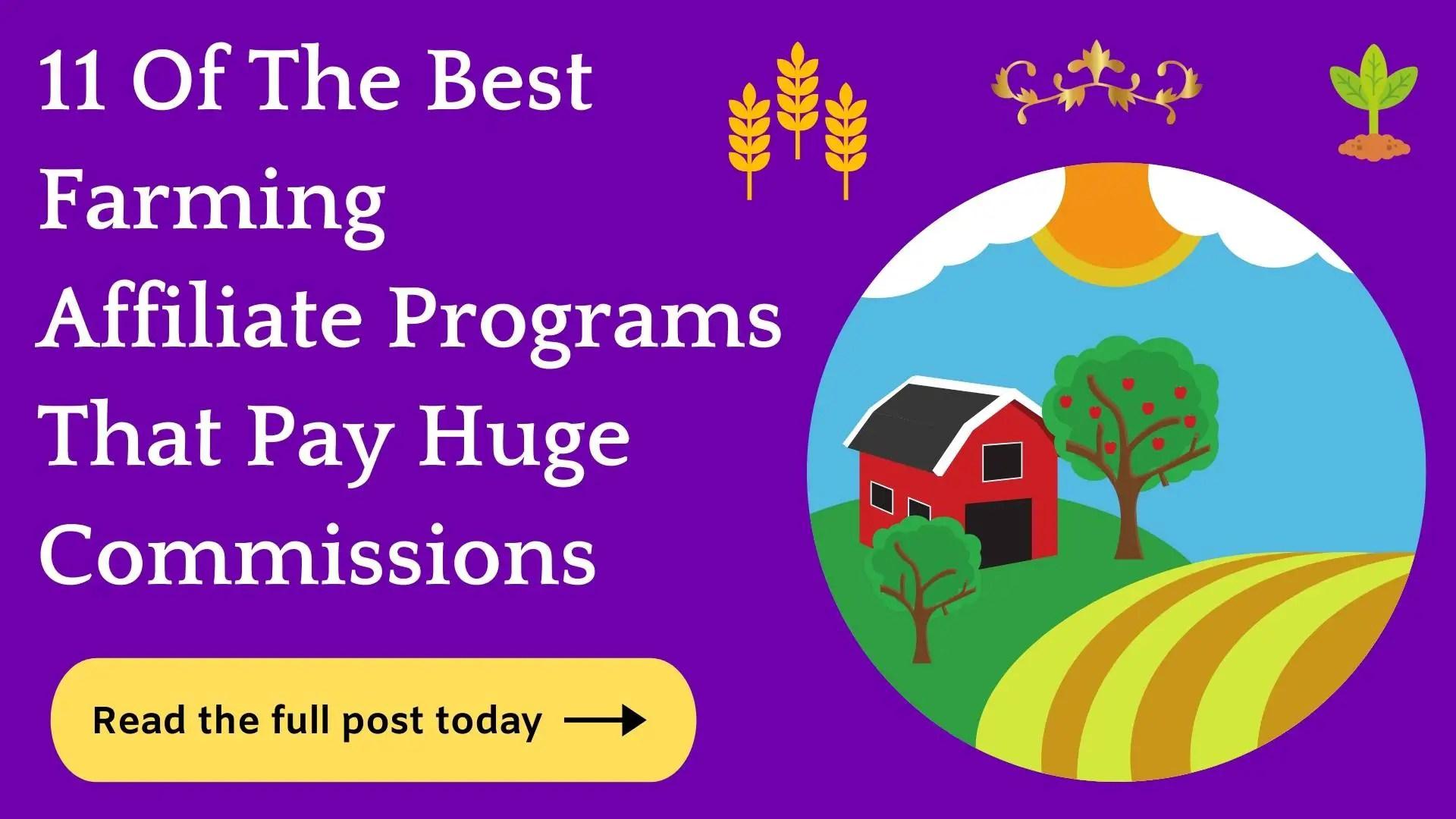 farming affiliate programs