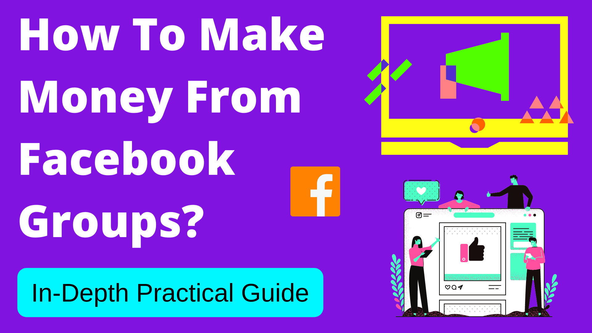 how to make money from facebook groups