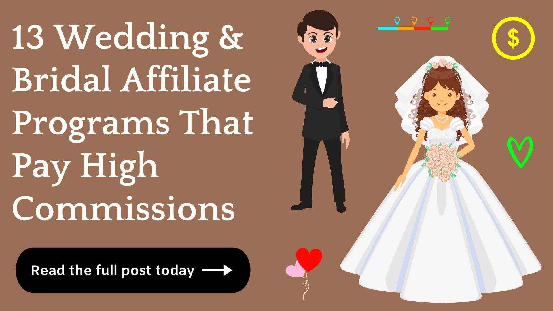 best wedding and bridal affiliate programs
