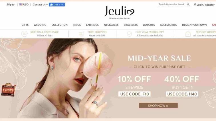 Jeulia Jewelry affiliate program