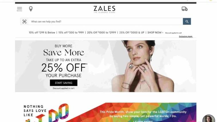 Zales affiliate program