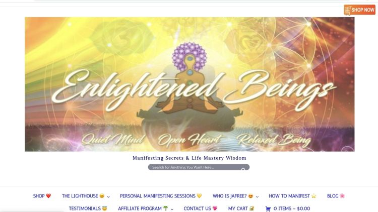 Enlightened Beings affiliate