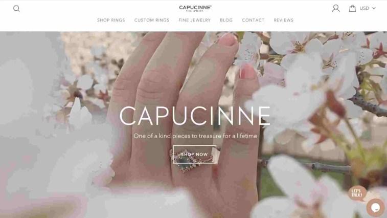 Capucinne Jewelry affiliate