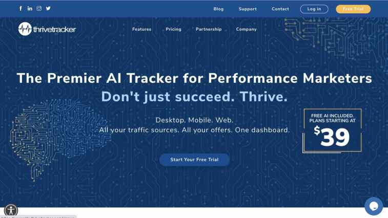 clickmagick alternatives: Thrive Tracker