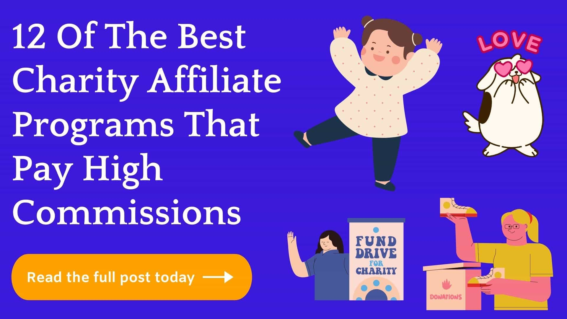Best Charity Affiliate Programs