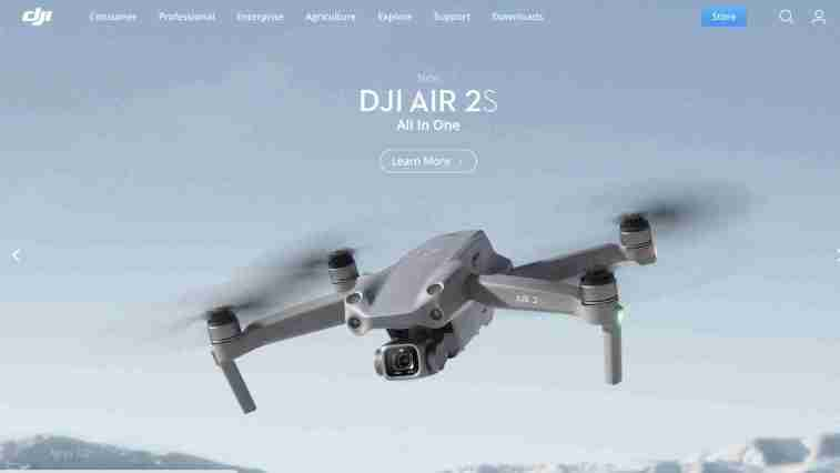 DJI Drones affiliate program: Technology affiliate