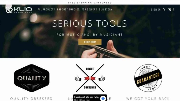 KLIQ Music Gear Affiliate Program