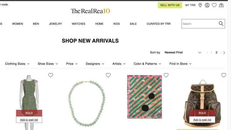 The Real Real Luxury Consignment Affiliate Program