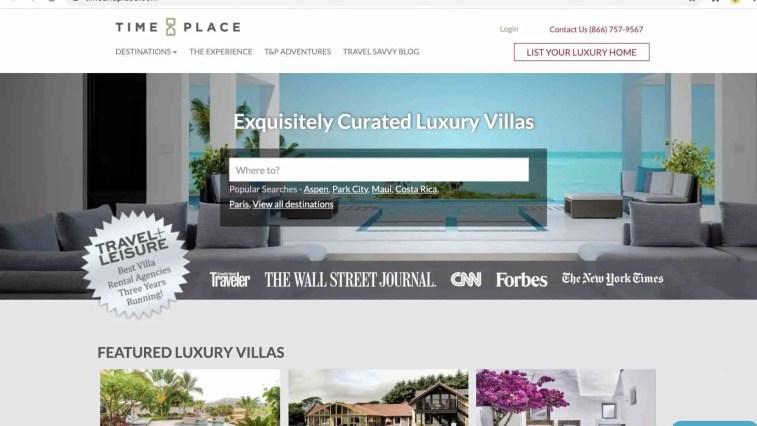 Time & Place Luxury Travel Affiliate Program