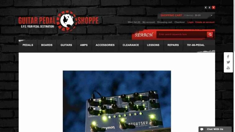 Guitar Pedal Shoppe Affiliate Program