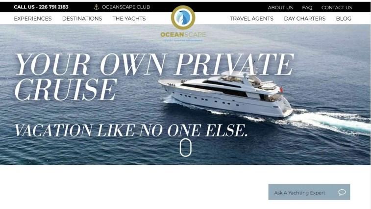 8. OceanScape Yachts Affiliate Program