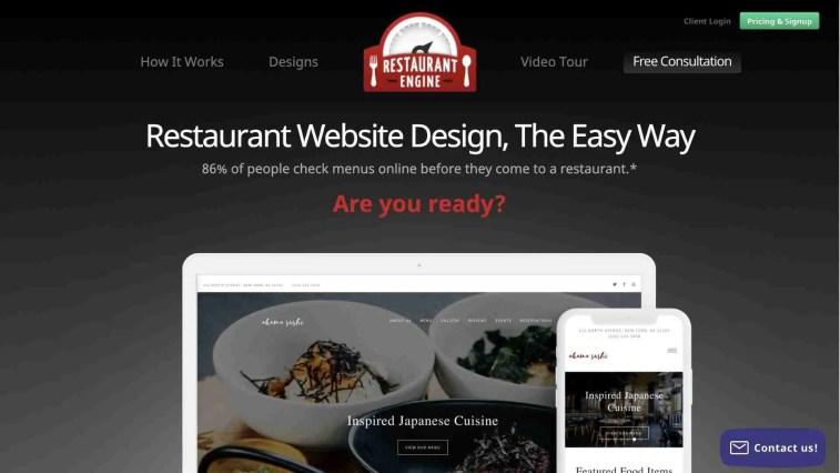 Restaurant engine affiliate program
