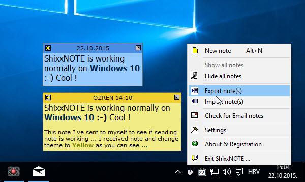 ShixxNOTE on Windows 10 (1/2)