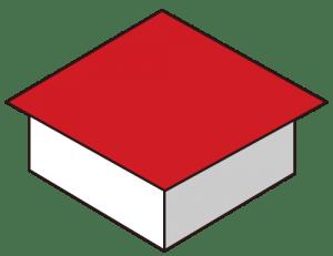 陸屋根(りくやね or ろくやね)