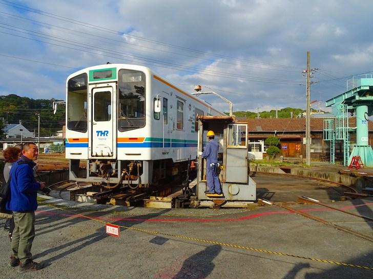 天竜二俣駅転車台
