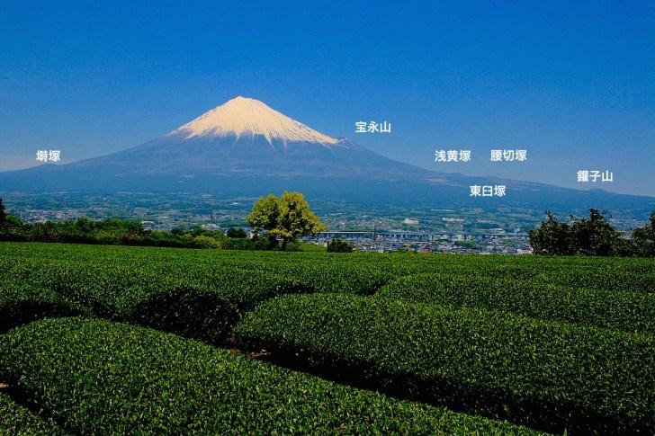 富士の裾野に数多いニキビのような寄生火山も注目