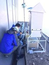 大気試料の採取