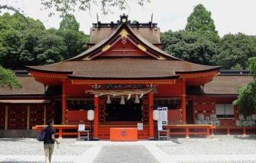 富士山本宮浅間大社 拝殿・幣殿