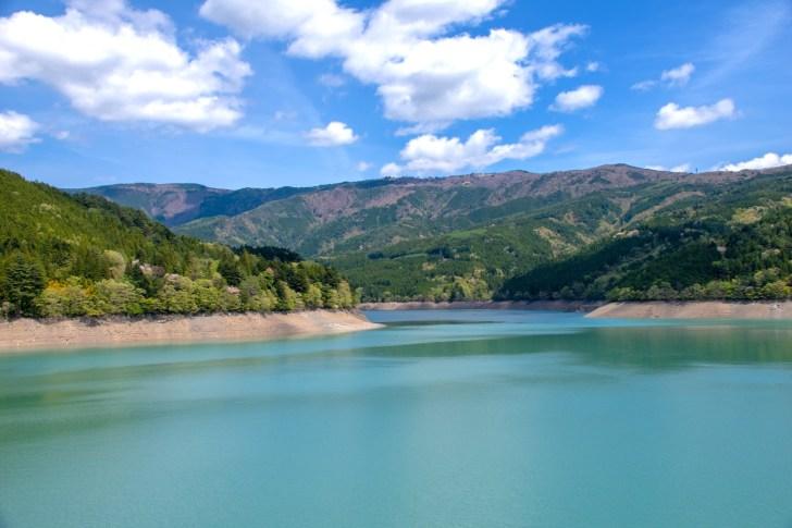 井川ダム(井川湖)