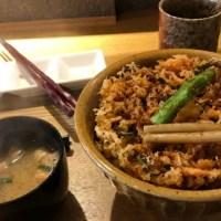 造りの山葵ランチ「桜海老のかき揚げ丼を食べたけどわさび丼も食べたかった」田丸屋本店