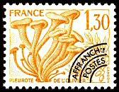 timbres-gastonomie-champignons-pleurote
