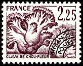 timbres-gastronomie-champignons-clavaire