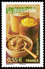 TIMBRES-GASTRONOMIE-MOUTARDE