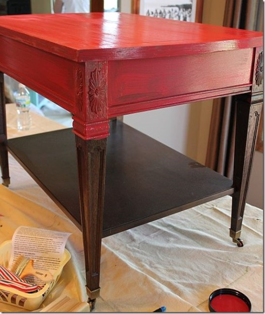 Shizzle Design Furniture Painting Workshop BEFORE Byron Center, michigan CeCe Caldwell's Chalk Clay Paints ideas colors tables chair night stands tips learn how to 5 18 13 8