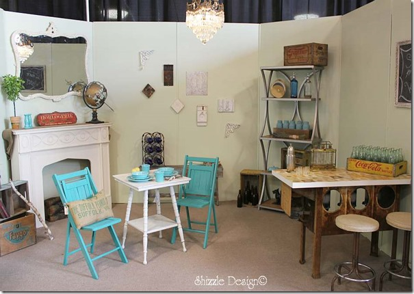 Michigan Antiques and Collectibles Festival Midland Michigan Shizzle Design painted furniture Design Competition Room 6b