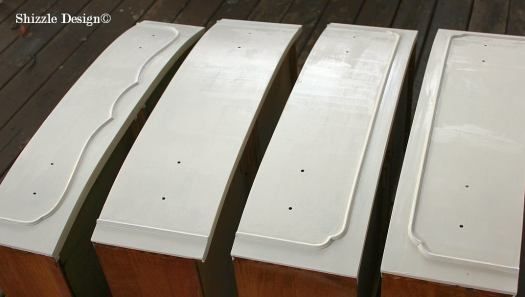 Shizzle Design Michigan #americanpaintcompany white Home Plate Dollar Bill Rushmore Heaven's Light chalk clay paint dresser drawers 2