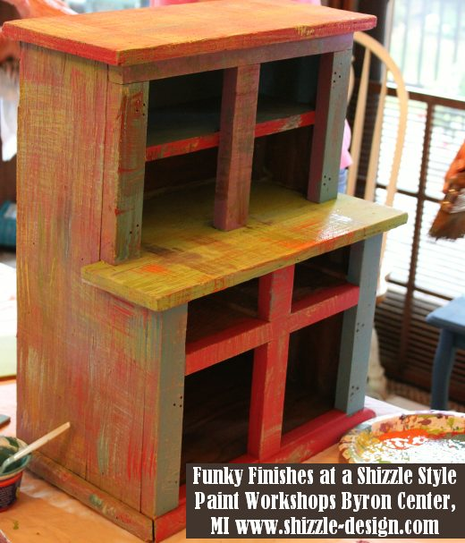 September 14 Shizzle Style Furniture Paint workshops byron center michigan how to diy funky finishes chalk clay paint 8